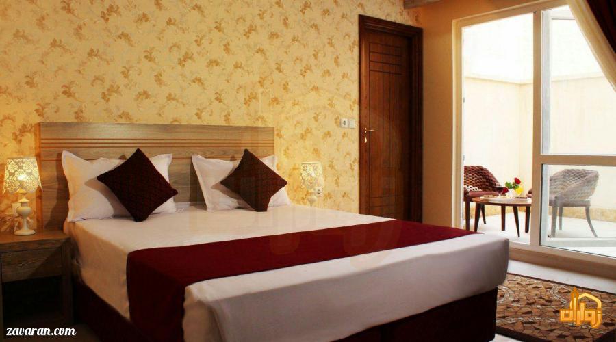 رزرو اتاق دو تخته هتل آپارتمان آرین مشهد