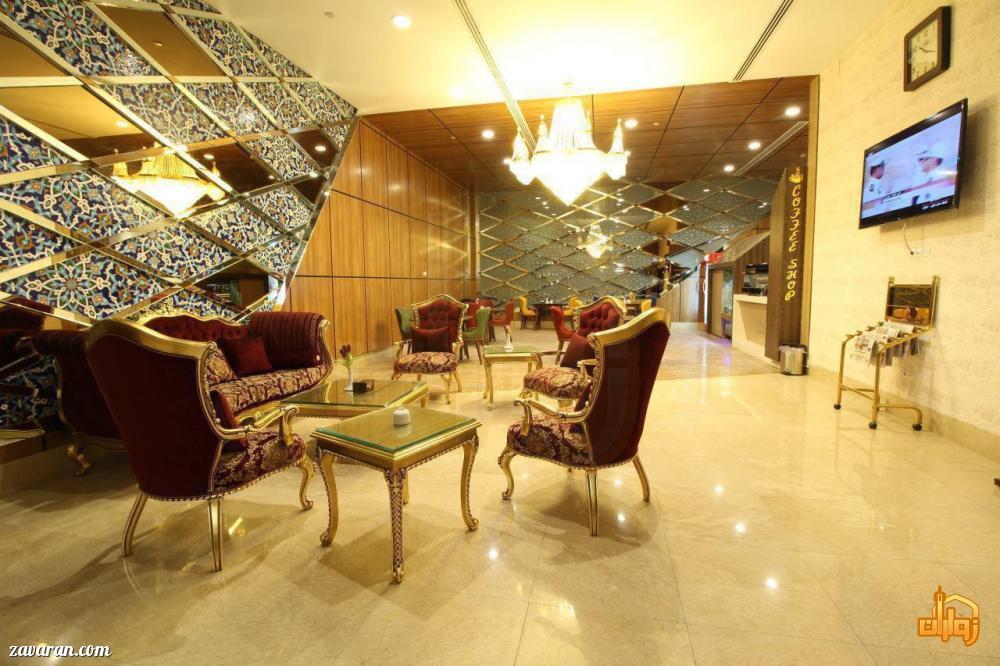 لابی و فضای داخلی هتل تبریز مشهد