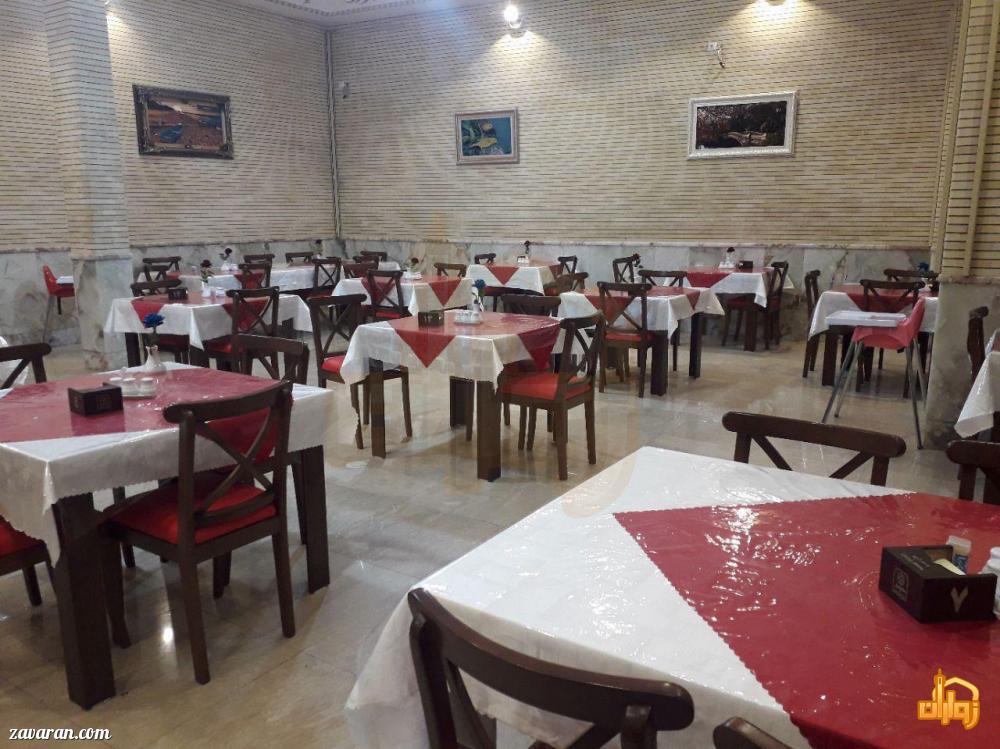 رستوران هتل تبریز مشهد