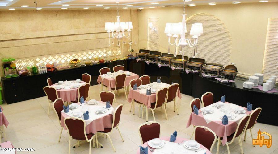 رستوران هتل آپارتمان آرین مشهد