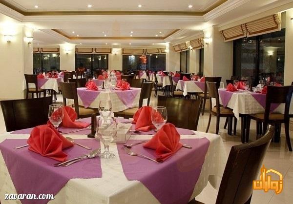رستوران هتل جواد مشهد