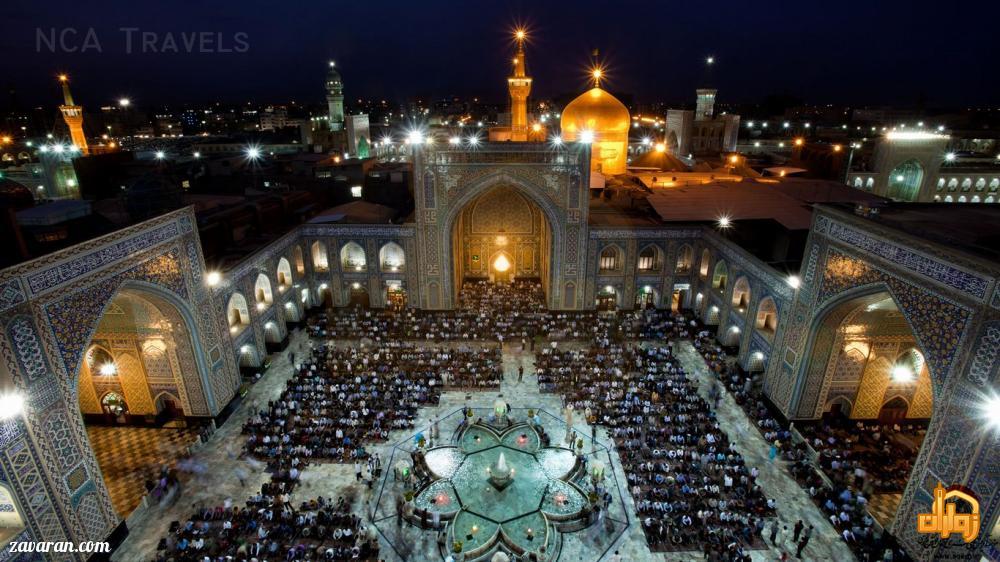 قیمت هتل در مشهد برای عید فطر