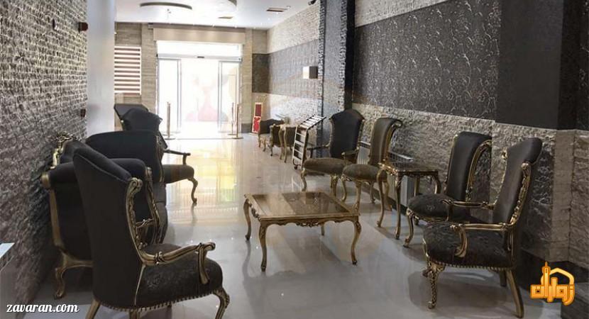 لابی هتل آپارتمان هاوین مشهد
