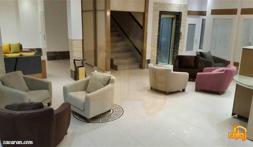 فضای داخلی هتل آپارتمان هاوین مشهد