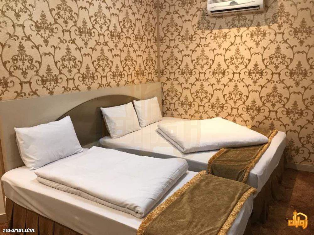 رزرو اتاق سه تخته هتل آپارتمان هومن مشهد