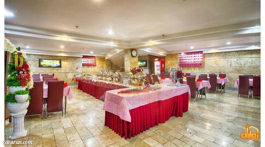 رستوران هتل سامرا مشهد