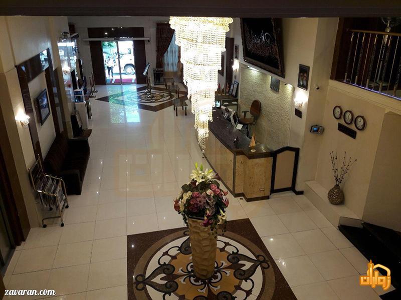 فضای داخلی هتل عرش مشهد