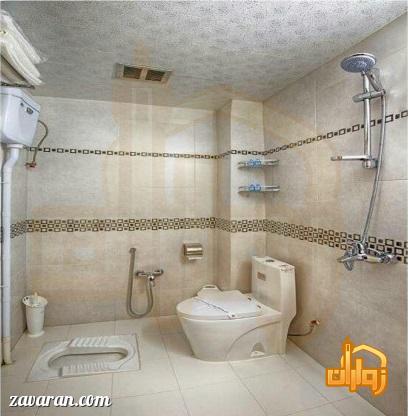 سرویس بهداشتی اتاق های هتل سامرا مشهد