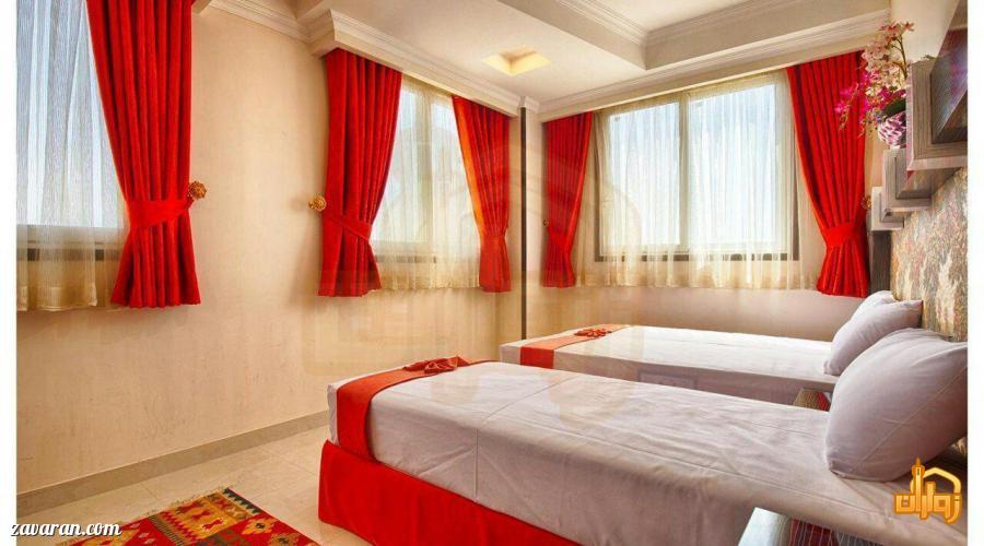 رزرو اتاق سه تخته در هتل سامرا مشهد