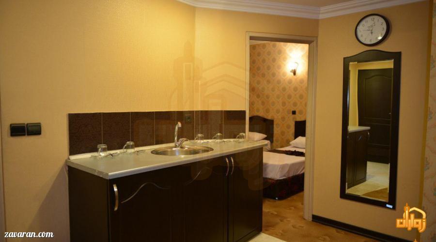 رزرو آپارتمان یک خوابه در هتل عرش مشهد