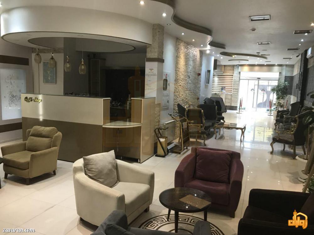فضای داخلی و لابی هتل آپارتمان هومن مشهد