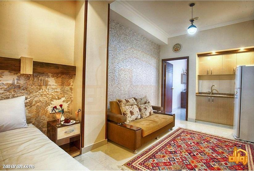 رزرو اتاق یک خوابه در هتل سامرا مشهد