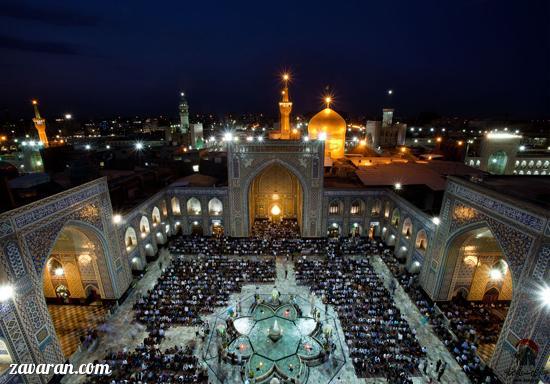 جاذبه های گردشگری شهر مشهد
